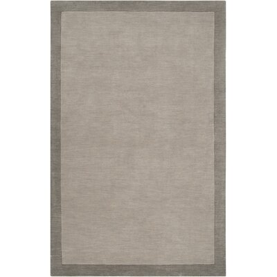 Madison Square Pewter/Flint Gray Area Rug Rug Size: 33 x 53