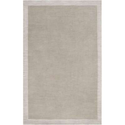Madison Square Hand Woven Wool Light Gray Area Rug Rug Size: Rectangle 8 x 10