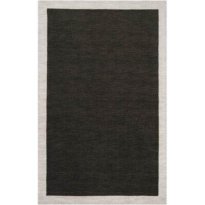 Madison Square Coal Black/Oatmeal Area Rug Rug Size: Rectangle 5 x 76