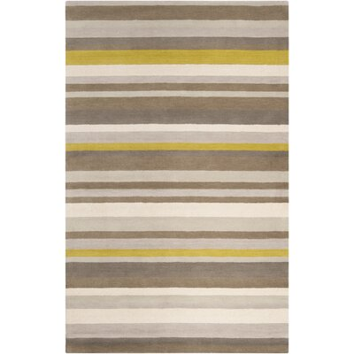 Madison Square Green/Yellow Area Rug Rug Size: Rectangle 2 x 3