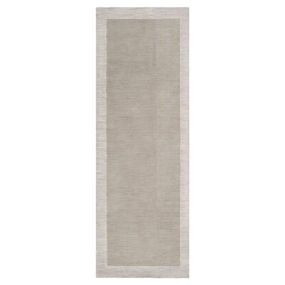 Madison Square Cobble Stone/Oatmeal Area Rug Rug Size: Runner 26 x 8