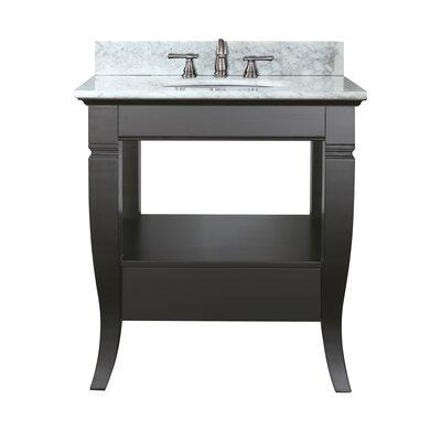 Trumbauer 31 Single Bathroom Vanity Set Top Finish: Carrera White