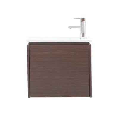 Milo 22 Single Wall Mounted Bathroom Vanity Set