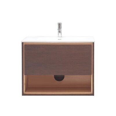 Sonoma 32 Single Bathroom Vanity Set Base Finish: Iron Wood