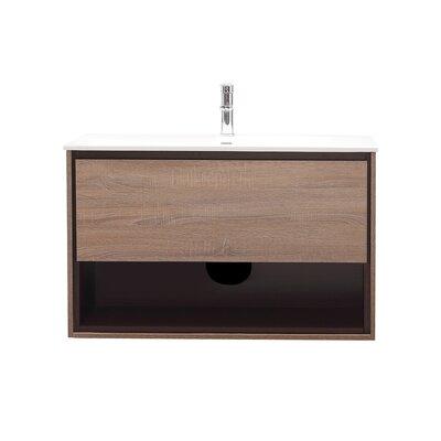 Sonoma 39 Single Bathroom Vanity Set Base Finish: Restored Khaki Wood