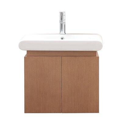 Elle 24 Single Wall Mounted Bathroom Vanity Set