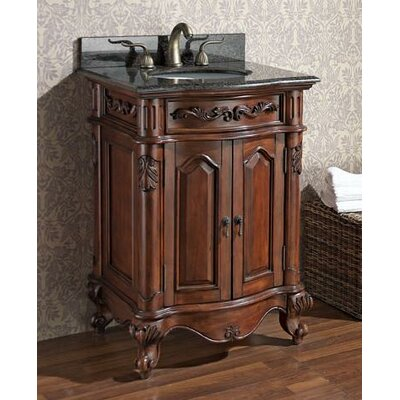 McCloy 25 Single Bathroom Vanity Set