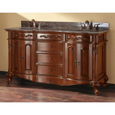 McCloy 61 Double Bathroom Vanity Set