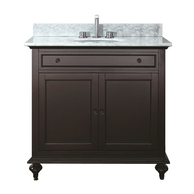 Merlot 25 Bathroom Vanity Set Top Finish: Carrera White