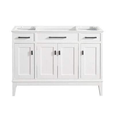 Chesterville 48 Bathroom Vanity Base Finish: White