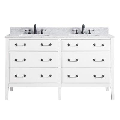 Delano 60 Bathroom Vanity Base Base Finish: White