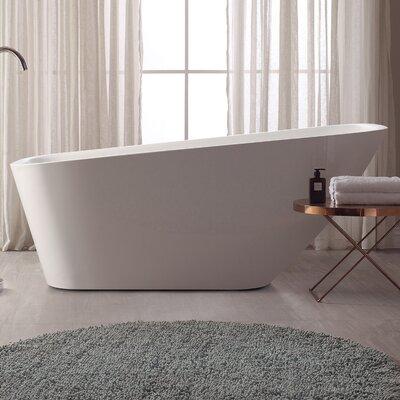 70 H x 30 W Soaking Bathtub
