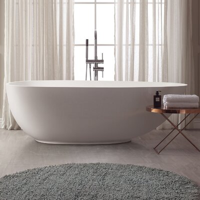 VersaStone 69 H x 32 W Soaking Bathtub