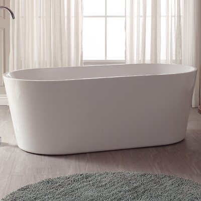 67 H x 32 W Soaking Bathtub