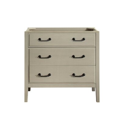 Delano 36 Single Bathroom Vanity Base Base Finish: Taupe Glaze