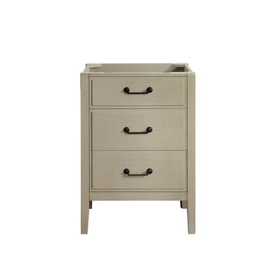 Delano 24 Single Bathroom Vanity Base Base Finish: Taupe Glaze
