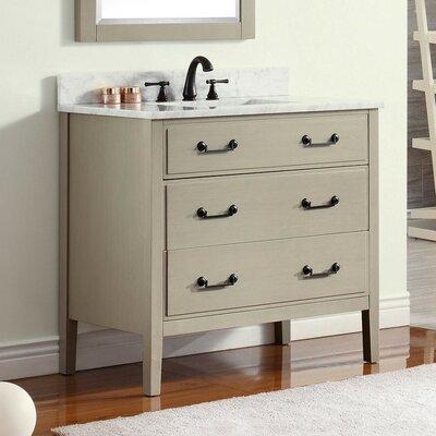 Delano 36 Single Bathroom Vanity Base Base Finish: Taupe Glaze