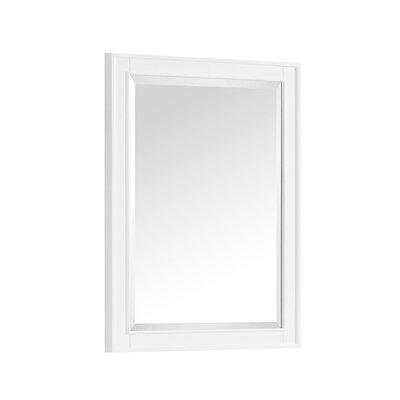 "Madison Bathroom Framed Mirror Size: 32"" H x 28"" W x 1.5"" D"