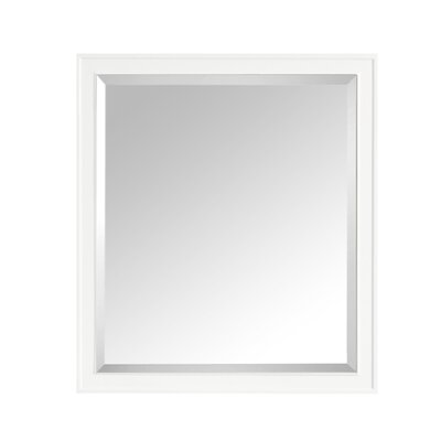 "Madison Bathroom Framed Mirror Size: 32"" H x 36"" W x 1.5"" D"