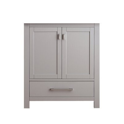 Modero 30 Vanity Base Base Finish: Chilled Gray