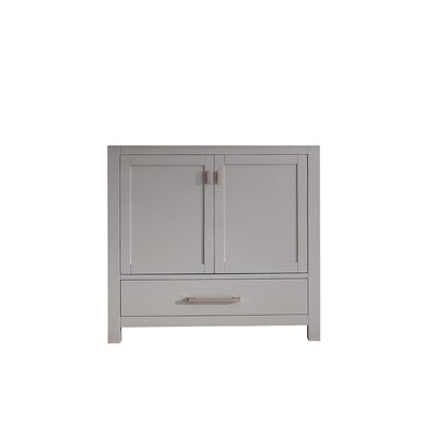 Modero 36 Single Bathroom Vanity Base Base Finish: Chilled Gray