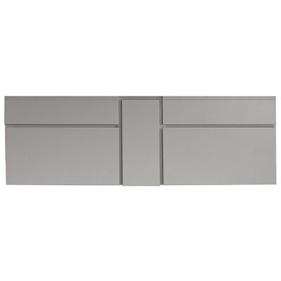 "Tribeca 60"" Wall Mounted Vanity Base"