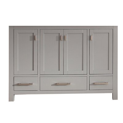 Modero 48 Single Bathroom Vanity Base Base Finish: Chilled Gray