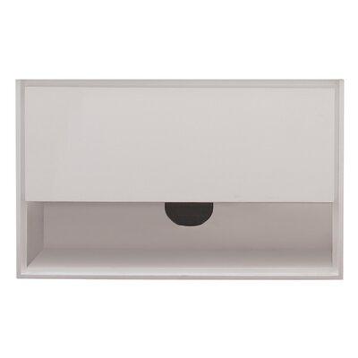 Sonoma 39 Single Bathroom Vanity Base Base Finish: White
