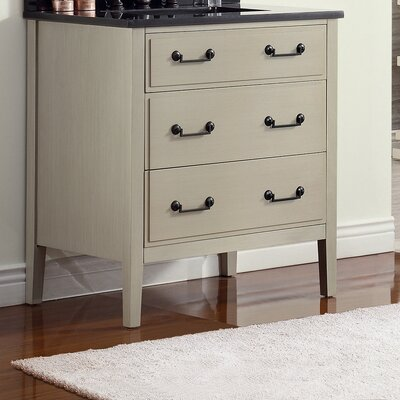 Delano 30 Single Bathroom Vanity Base Finish: Taupe Glaze