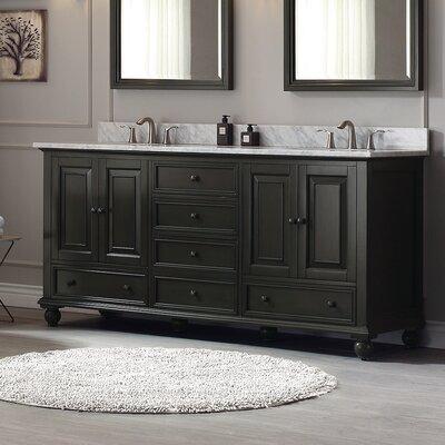 Thompson 60 Bathroom Vanity Base Base Finish: Charcoal Glaze