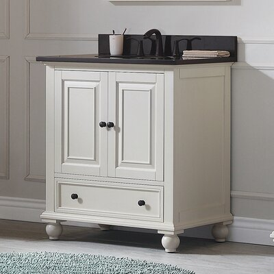 Thompson 30 Bathroom Vanity Base Base Finish: True White