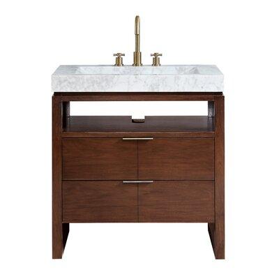 "Hallmark 33"" Single Bathroom Vanity Set 185A901718B147A9B6D4E6038D53577A"