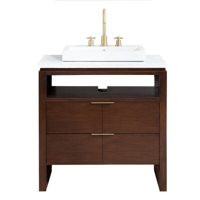 "Hallmark 33"" Single Bathroom Vanity Set A6B82ADAEE44469595783F31CC44010B"