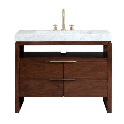 "Hallmark 43"" Single Bathroom Vanity Set E0436CA9C7424419BE2DD1CDB66B50A6"