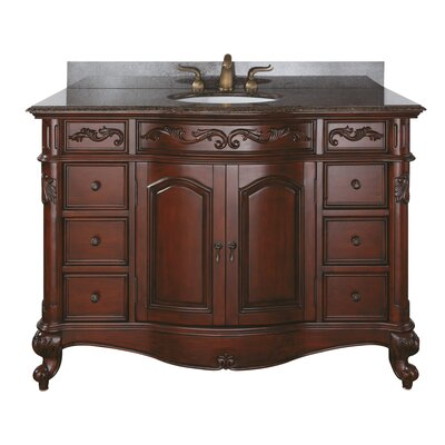 McCloy 49 Single Bathroom Vanity Set