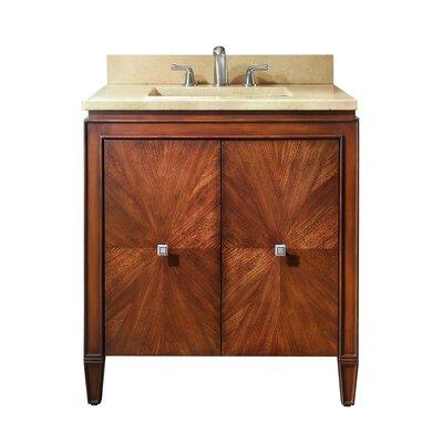 Brentwood 31 Single Bathroom Vanity Set Top Finish: Galala Beige