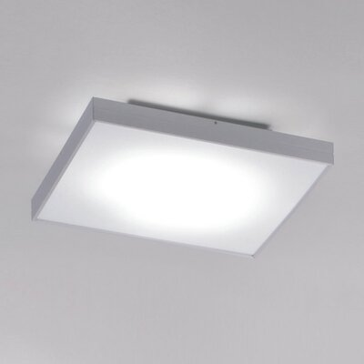 Linea 1-Light Flush Mount Finish: Aluminum