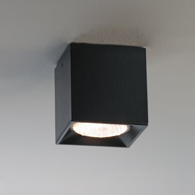Dau Spot 1-Light Flush Mount Size: Small