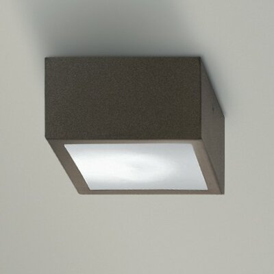 Four 1-Light Flush Mount