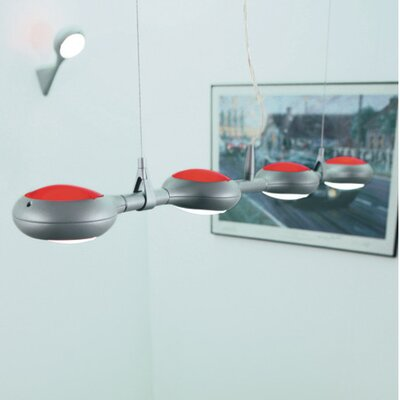 Space 4-Light Kitchen Island Pendant