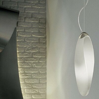 Track 1-Light Mini Pendant Canopy: No, Finish: Metallic Gray