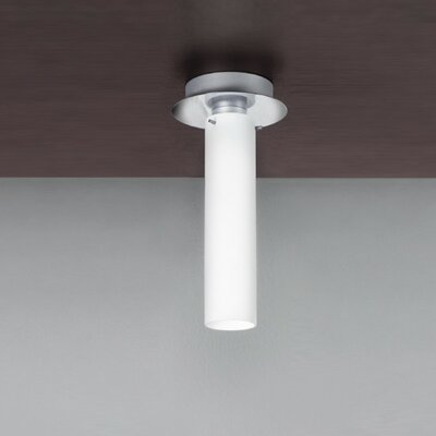 Olly 1-Light Flush Mount Size: 12.25 H x 6.25 W / 1 x 18W CFL