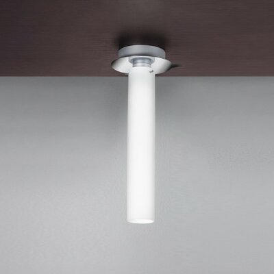 Olly 1-Light Flush Mount Size: 16.25 H x 6.25 W / 1 x 24W CFL