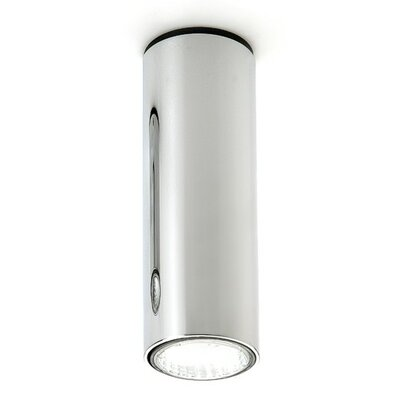 Kronn 1-Light Flush Mount Finish / Size: Chrome/8 H x 2.75 Dia