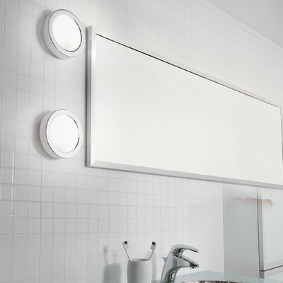 Ai-Pi 1-Light Flush Mount Finish: White