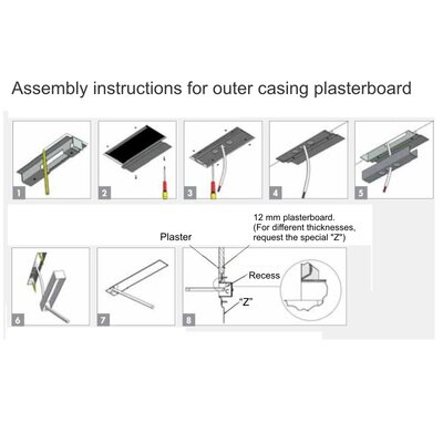 Spillo Plasterboard Housing Lighting Accessories