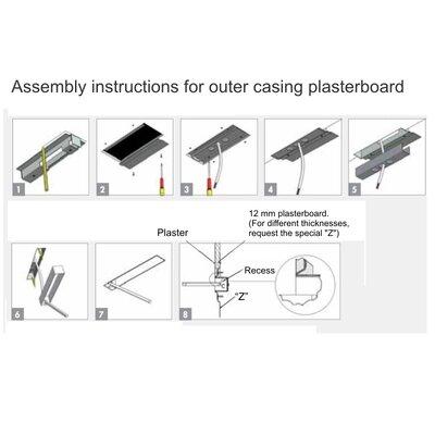 Spillo Plasterboard Housing Lighting Accessories