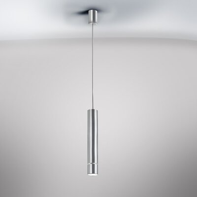 Kone Mini Pendant Finish: Aluminum