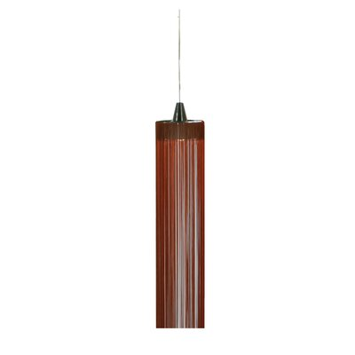 Swing Mini Pendant Finish: Chrome/Rust