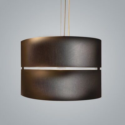 Luz Oculta 1-Light Drum Pendant Finish: Bronze